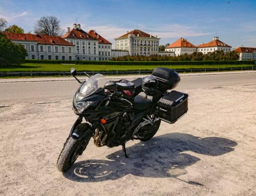 Auf 2 Rädern durch München: Motorrad-Stadtrundfahrt